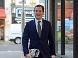 george osborne gets job as professor manchester university