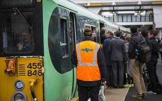 southern cuts a quarter of trains as union action kicks off