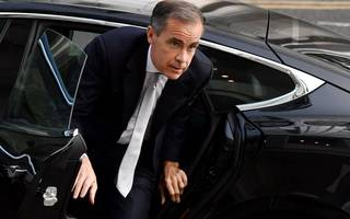 sterling hits month highs as carney continues to drive the market