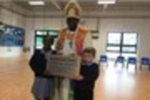 archbishop of york visits nottingham to bless new school