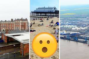 grimsby described as 'chav capital of scumberside' in scathing online reviews - but we think otherwise