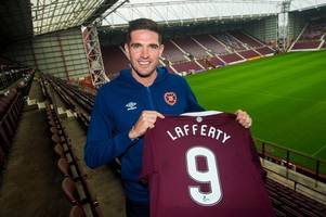 kyle lafferty insists he owes no apologies after standing up hibs boss neil lennon to sign for hearts