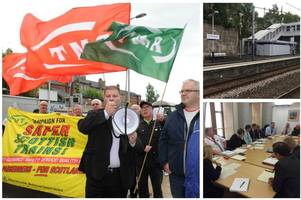 staff at 'scotland's worst station' to get body cams in blitz on yobs after protests and emergency summit