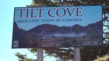 the quiet life in tilt cove, canada's smallest town