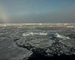 as climate stirs arctic sea ice faster, pollution tags along