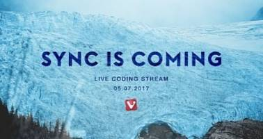 brace yourselves, sync is coming to vivaldi web browser, based on chromium sync
