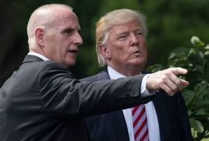 trump security chief turned white house aide called as witness in russia probe