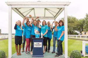 free sun cream and coloured wristbands at beverley racecourse with skin cancer on the rise