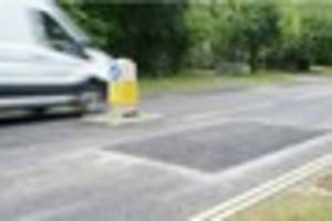 the mystery behind the speed bumps which have suddenly re-appeare...