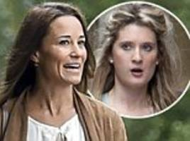 pippa middleton strolls through irish village with husband
