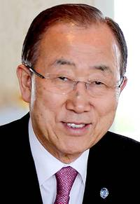 ex-un chief ban ki-moon joins ex-leaders promoting peace