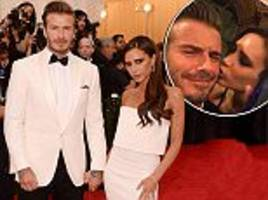 victoria beckham 'upset over time apart' from david'