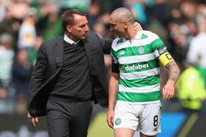 celtic skipper scott brown will go down as one of the club's greatest says brendan rodgers as he prepares new deal