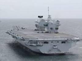 aircraft carrier with no jobs is the least of worries