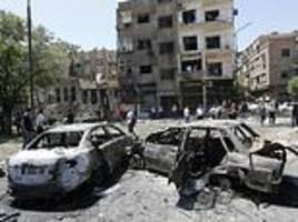damascus suicide car bomb chase killed 18 people in syria