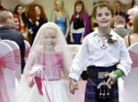 girl who 'married' best friend loses battle with cancer