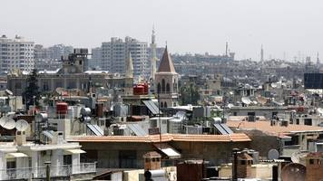 syria conflict: damascus hit by car bomb attack