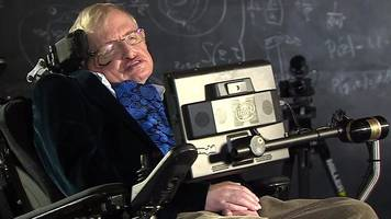 stephen hawking at 75: trump and climate change