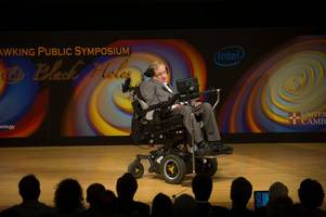 stephen hawking leaves audience in tears at 75th birthday celebration