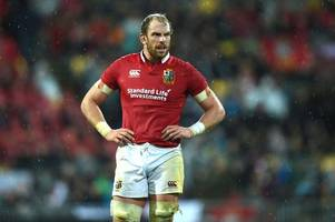 alun wyn jones determined to enjoy this week on the eve on his likely last-ever appearance for the lions