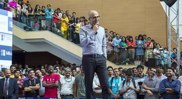 microsoft is undergoing another huge reorganization to sell more cloud subscriptions and less software (msft)