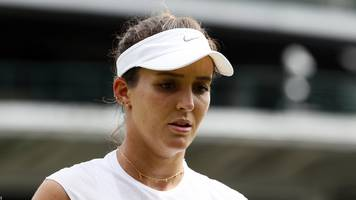 robson out of wimbledon in straight sets