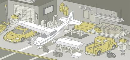 need more parking? how to make an airport hangar your garage
