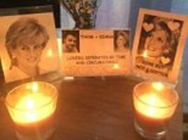 man builds 'princess diana shrine' in roommate's bedroom