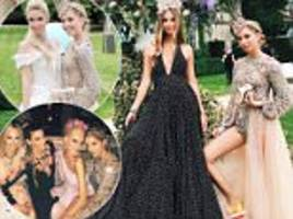 princess olympia of greece had an extravagant 21st b-day