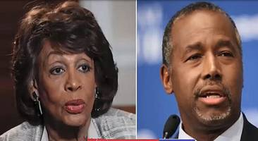 maxine waters says ben carson doesn't care about the poor: i'm going to take his ass apart'