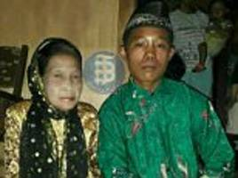 indonesian boy, 16, 'marries 71-year-old woman'
