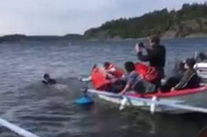 leave.eu video showing a 'drowning' refugee has been 'censored by facebook' claim
