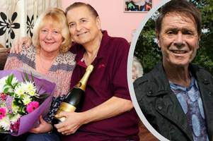 family tribute to 'devoted' husband and dad who had cliff richard as a well-wisher