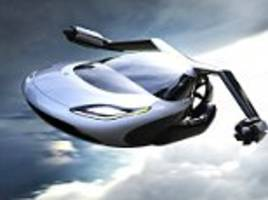 volvo parent company buys flying car firm terrafugia