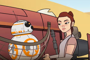 catch up with the women of star wars in disney's new forces of destiny shorts