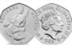 these are some of the rarest 50p coins in circulation and they...
