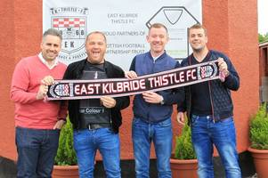 east kilbride thistle can be shock troops this season, says boss alan paterson