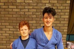 wishaw judo duo aaron miller and oliver park heading to youth olympics