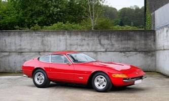 elton john used to own a ferrari daytona, now you can make that very car yours