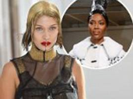 the craziest 2017 haute couture fashion week beauty looks