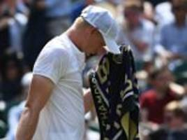 kyle edmund loses to gael monfils in wimbledon round two