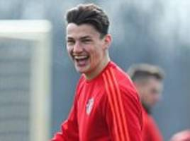 manchester united youngster regan poole joins northampton