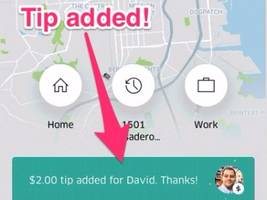 You can now tip your Uber driver in 100 different cities — here's how to do it