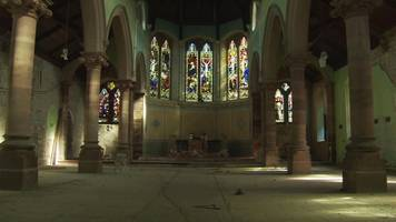 horror at the exorcist screening in former church