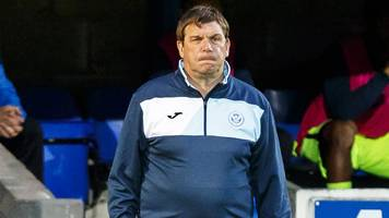 st johnstone need extra quality, says manager tommy wright