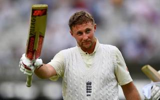 root scores 184 in first innings as england test captain