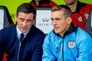 kilmarnock legend james fowler loving life as jack ross' right hand man at st mirren