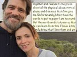 jim carrey to give deposition over girlfriend's suicide