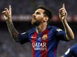 messi 'the best player ever' and deserves deal - bartomeu