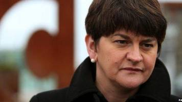 arlene foster: man charged over facebook abuse